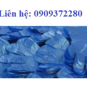 Bao tay xốp màu xanh dương