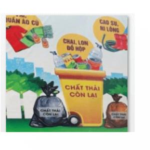 Thùng rác chứa chất thải thông thường