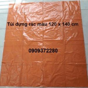 Túi đựng rác màu cam