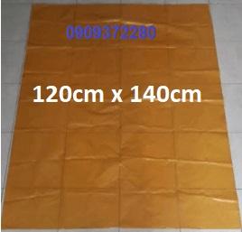 Túi đựng rác màu vàng