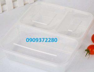 Hộp nhựa 3 ngăn
