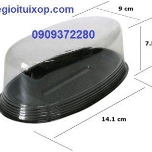 Hộp nhựa oval