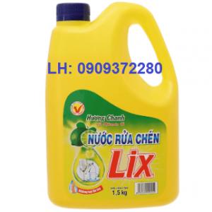 Nước rửa chén Lix