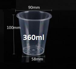 Ly nhựa 360ml